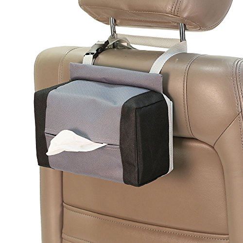 (FH Group FH1133GRAY FH1133-GRAY Tissue Dispenser (E-Z Travel for Cars))