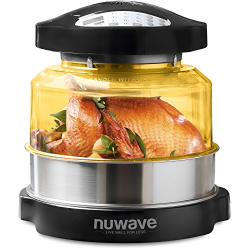 NuWave Pro Plus 20633 Digital Convection Countertop Convection Oven with Stainless Steel Extender Ring Kit (Nuwave Oven Pro Parts compare prices)