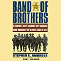 Band of Brothers: E Company, 506th Regiment, 101st Airborne, from Normandy to Hitler's Eagle's Nest Hörbuch von Stephen E. Ambrose Gesprochen von: Tim Jerome