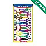 Craft Scissors, Paper Art Small Cute Craft Scissors Kids (12/pack) - Pack Of 12