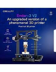طابعة ثلاثية الابعاد من كريتلي ايندر-3 في 2 بهيكل معدني مدمج ولوحة رئيسية صامتة جديدة واجهة مستخدم دعم الشاشة استئناف الطباعة، يبلغ حجمها 220 * 220 * 250 ملم