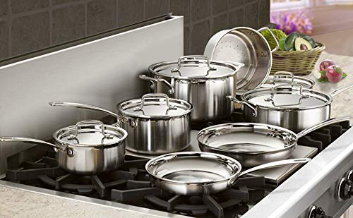 Thanksgiving Day,Christmas,Black Friday Oven Safe PFOA Free FDA Nonstick Double Coating Hard-Anodized Aluminum Cooking Pots and Pans Set Lightning Deals Induction Cookware Set Dishwasher Safe