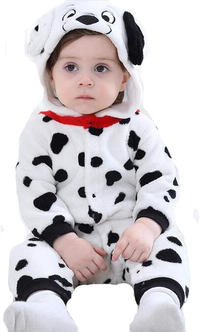 Tonwhar Baby Animal Bodysuit Halloween Costume 80 Ages 6-12 Months, Wolf