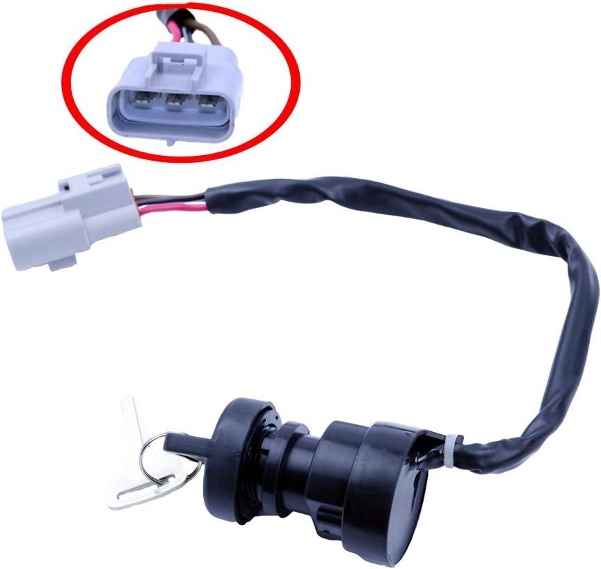 Ignition Switch Key FITS YAMAHA GRIZZLY 550 YFM550 4X4 FI 2009-2014 NEW