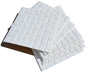 20 Stück Selbstklebend Brick Muster Tapete Wasserdicht~Tapeten  Stein~Wandtapete Steine~Steinoptik Mauer
