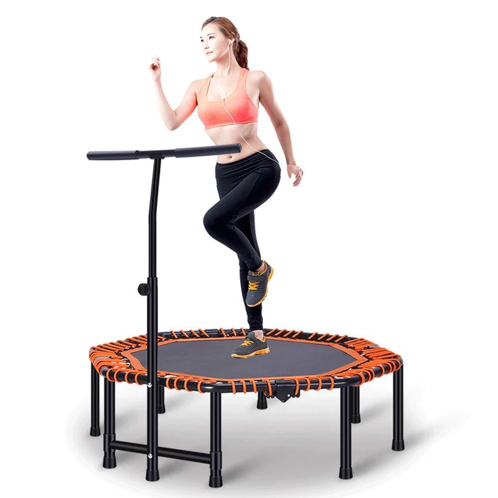Fitness-Trampolin - Adult Fitness Home Professionelles Trampolin Faltbarer Dämpfer Abnehmen Fitnessgeräte Kinder Indoor-Stretch-Trampolin (Gewicht 150kg)
