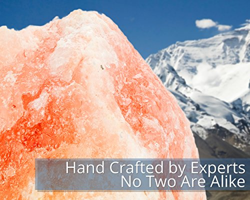 Hemingweigh-Himalayan-Glow-Hand-Carved-Natural-Crystal-Himalayan-Salt-Lamp-With-Genuine-Wood-Base-Bulb-And-On-and-Off-Switch-6-to-8-Inch-6-to-7-lbs-2-PACK