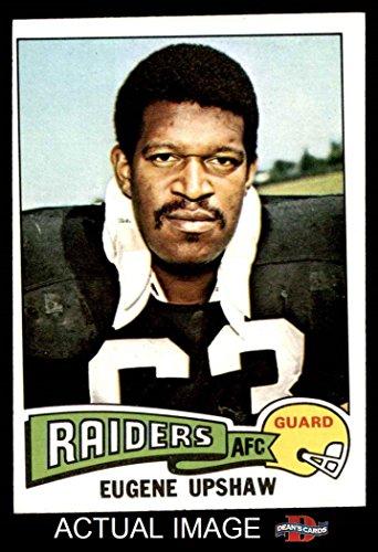 1975 Topps # 190 Gene Upshaw Oakland Raiders (Football Card) Dean's Cards 5 - EX Raiders