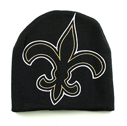 - NFL New Orleans Saints Team Color Beanie Hat
