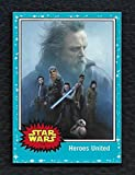 2017 Topps Star Wars Journey to The Last Jedi Complete Base Card Set 1-110 With 4 Insert Sets