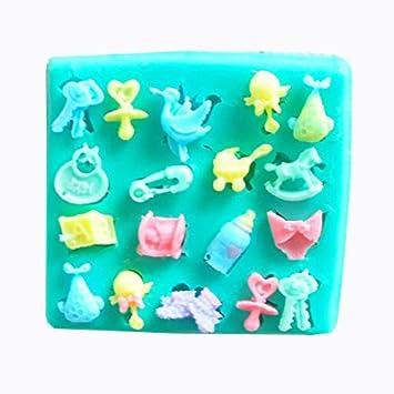 MathildaBaking Collection - de peluche con forma de Decor silicona para piruletas de adornos de encaje