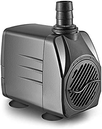 Fountain SuperAqua Submersible Aquarium Water Pump 1000 L//H Pond Pump- Adjustable Flow Rate-Multi-Sizes- - Water Feature 160CM Power Cable Waterfall