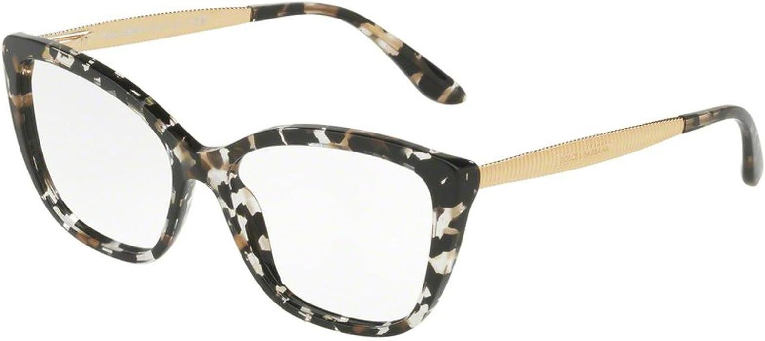 697f96d65f2 Amazon.com  Eyeglasses Dolce   Gabbana DG 3280 F 911 CUBE BLACK GOLD   Clothing