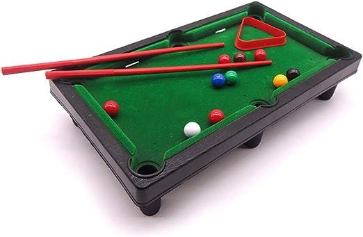 MELLRO Billar Snooker Plegable con Mini Bolas de Piscina Cue ...