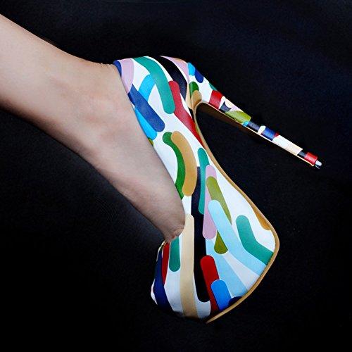 top Femme Hi Kolnoo Slippers Mélange Bqw5nt7