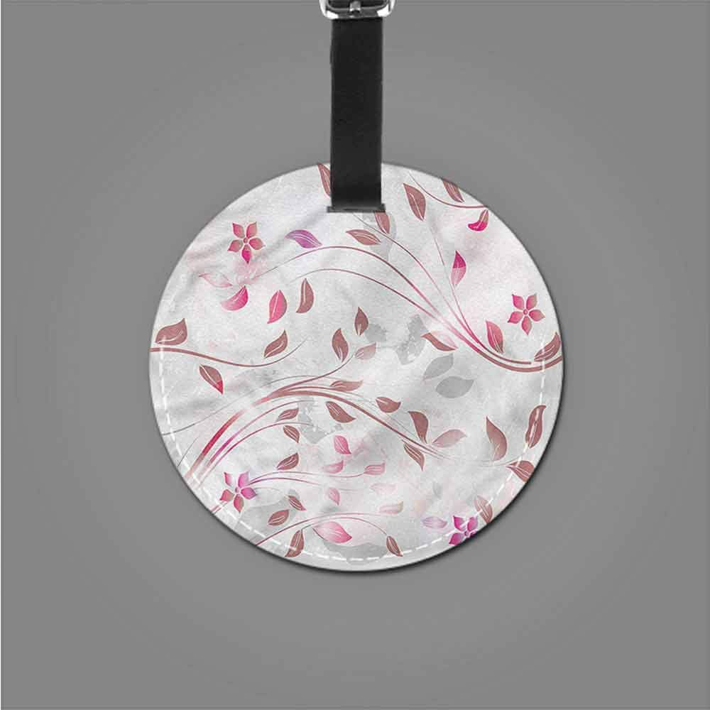 Luggage Tags Flower,Spring Meadow Environmental Holder Travel Accessories