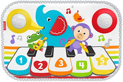 Fisher-Price FXC00 Kick and Play Piano, Multicolor