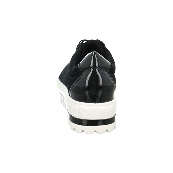 Gerry Weber Damen Halbschuh//Schnürer//Sneaker Lola 01 SCHWARZ G32511MI82//100