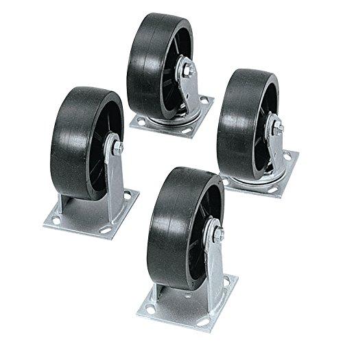 Heavy-Duty Casters Wheel Diam: 4'' (part# 1-320990) by Jobox