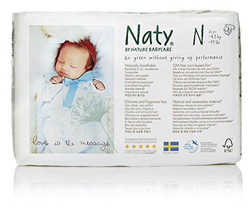 Image result for naty by nature newborn diapers