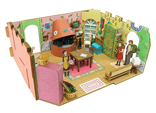 House MK07-13 (Paper Craft) 1/48 Studio Ghibli series Arietti (japan import) by Sankei