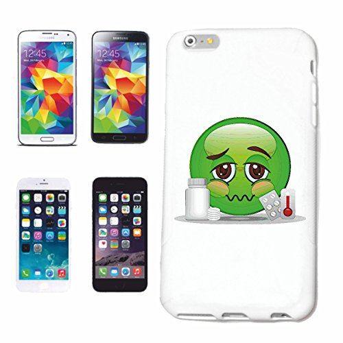 "cas de téléphone iPhone 7S ""SICK DROGUE ET TABLETTES ""sourire EMOTICON APP de SMILEYS SMILIES ANDROID IPHONE EMOTICONS IOS SMILEY"" Hard Case Cover Téléphone Covers Smart Cover pour Apple iPhone en bla"
