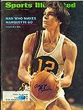 Allie McGuire autographed Sports Illustrated