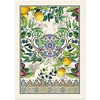 Michel Design Works Cotton Kitchen Dish Towel, Tuscan Grove