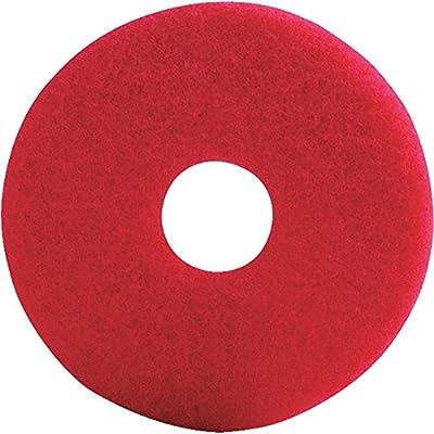 Lundmark Wax TKL20R Red Buffer Pad 20In - 2 pack