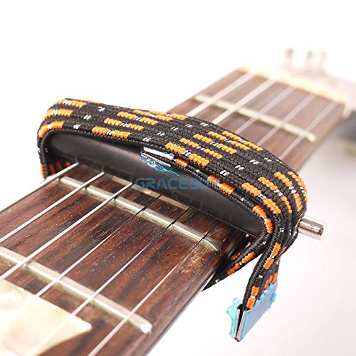 Wall of Dragon Elastic Multifunctional Guitar Capo, Spreading Capo for Folk And Classical Guitar capotraste by Wall of Dragon (Image #4)