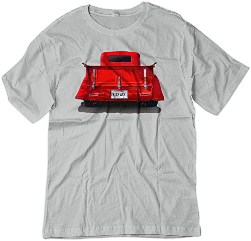 BSW Men's Nice Ass 1935 Ford Truck Hot Rod Shirt XS - Pickup Ford 1935