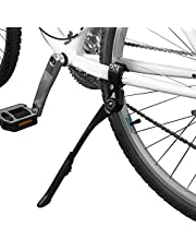 """BV Bike Kickstand - Alloy Adjustable Height Rear Side Bicycle Stand, for Bike 24"""" - 28"""""""