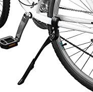 """BV Bike Kickstand - Alloy Adjustable Height Rear Side Bicycle Stand, for Bike 24"""""""