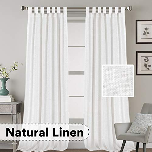 extra long white curtains - 5