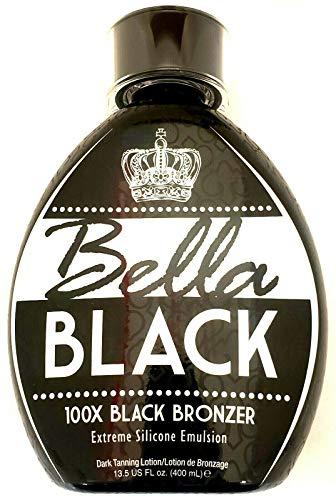 Bella Black 100x Black Bronzer Tanning Lotion 13.5 oz