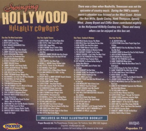Swinging hollywood hillbilly cowboys vol 3