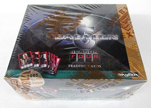 4 Cards Trading Box Season - Babylon 5 Season 4 Trading Card Box Set by Skybox