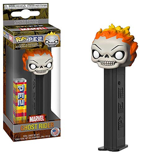 Funko Pop Pez Marvel - Ghost Rider Collectible Dispenser