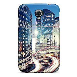 Galaxy S4 MpBfyRA8189BXZgT Lit City Tpu Silicone Gel Case Cover. Fits Galaxy S4 by supermalls
