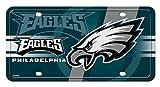 Rico NFL Philadelphia Eagles Green Circle Metal License Plate Tag