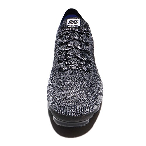 Nike Heren Air Vapormax Flyknit Loopschoen Zwart / Zwart-wit-racer Blauw 14.0