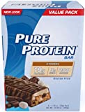 Pure Protein S'mores Value Pack 6-50 Gram Bars (24-bars)