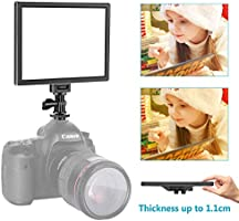 Neewer Camera/Camcorder Video Light LED Light Panel for Lighting in Studio or Outdoors, 3200K to 5600K Variable Color...