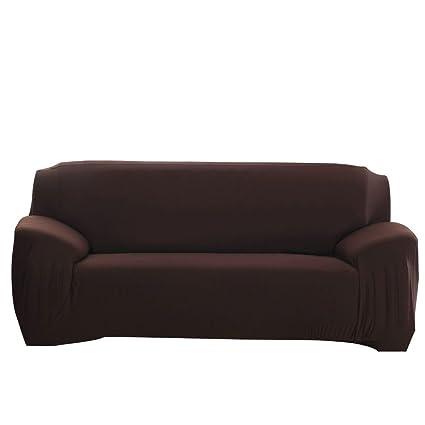 ELEOPTION Stretch Fabric Sofa Slipcover 1 2 3 4 Piece, Elastic Sectional  Sofa Cover Slipcover