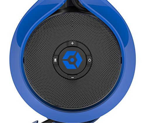 Gioteck FL-300 Wired Stereo Headset with Removable Bluetooth Speakers - Blue by Gioteck (Image #4)