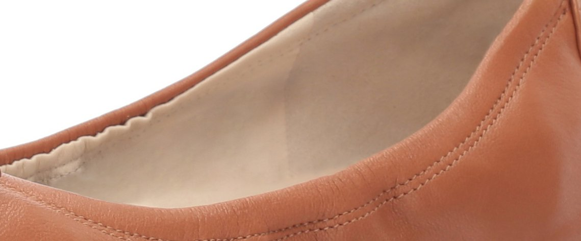 Cole Haan Women's Tali Bow Ballet Flat B06VXVW657 10 C US|British Tan Leather
