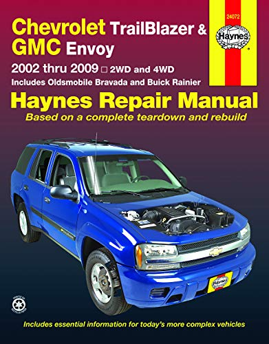 2004 Chevy Blazer Parts - Chevrolet TrailBlazer, TrailBlazer EXT, GMC Envoy, GMC Envoy XL, Oldsmobile Bravada & Buick Rainier with 4.2L, 5.3L V8 or 6.0L V8 engines (02-09) Haynes Repair Manual