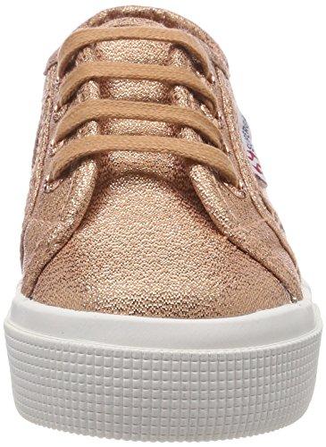 Superga 2730 LAMEJ, Zapatillas Unisex Niños Pink (Rose Gold)