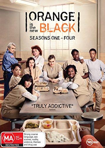 Orange is the New Black Series 1-4 Boxset | 16 Discs | NON-USA Format | PAL | Region 4 Import - Australia (Orange Is The New Black Box Set)