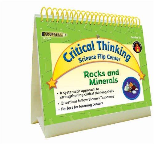 Rocks and Minerals Science Flip Center